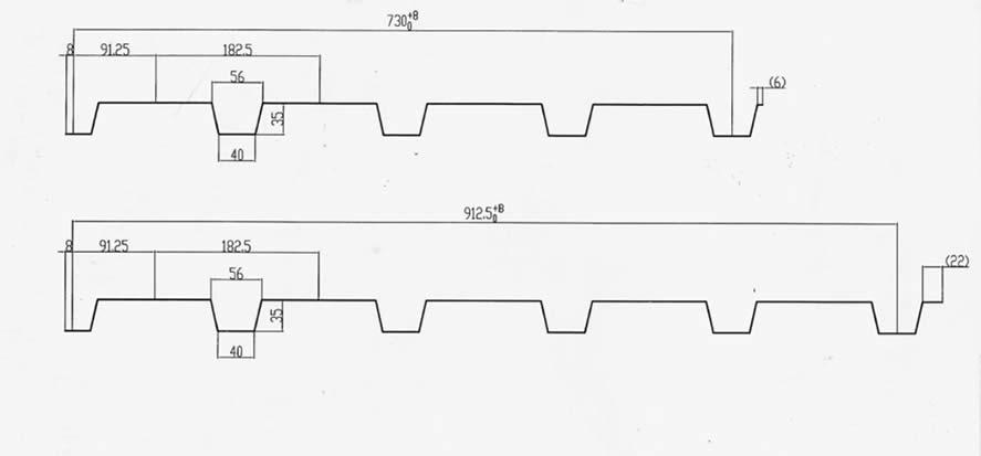 Schema Panou cutat H35 730, 912