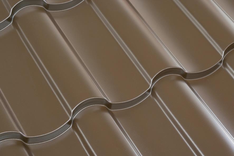 Tigla metalica NORDIC maron
